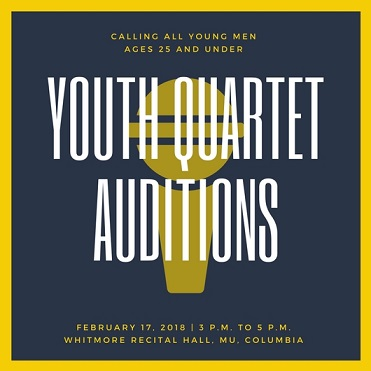 Youth Quartet Auditions